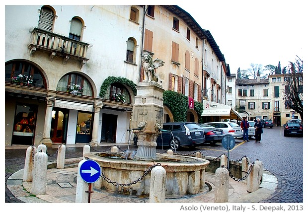 Asolo city centre, Veneto, Italy - images by S. Deepak, 2013