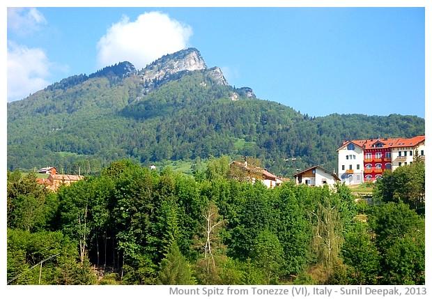 Mount Spitz, Altopiano Fiorentino, Vicenza, Italy - images by Sunil Deepak, 2013