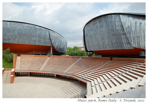 Auditoriums of Music park, Rome - S. Deepak, 2012