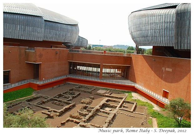 Auditoriums of Music park, Rome - S. Deepak, 2012