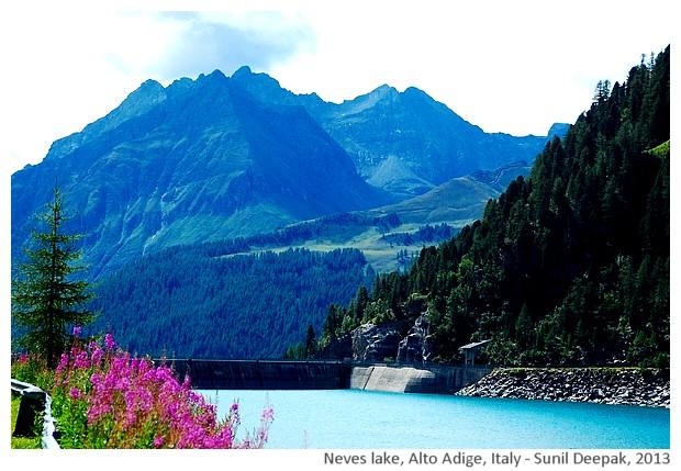 Neves lake, Alto Adige, Italy - images by Sunil Deepak, 2013