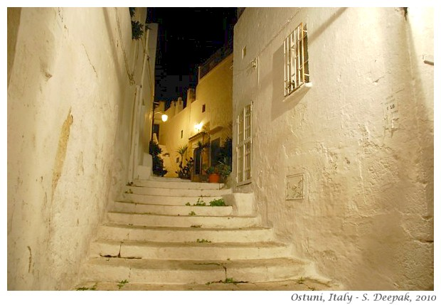 Ostuni streets, Italy - S. Deepak, 2012