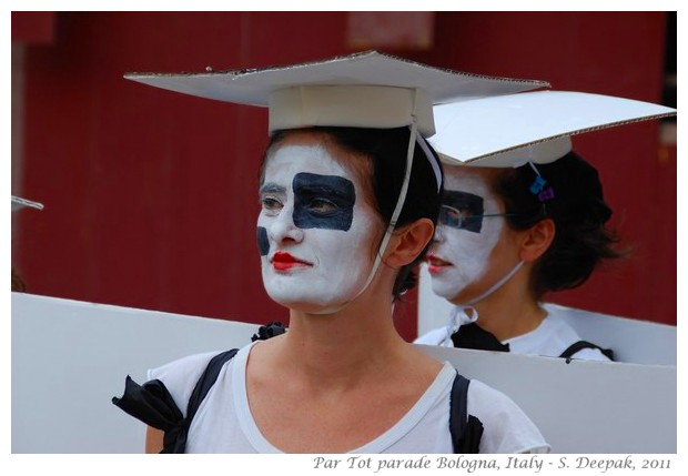 Par Tot parade, Bologna, Italy 2011 - images by S. Deepak