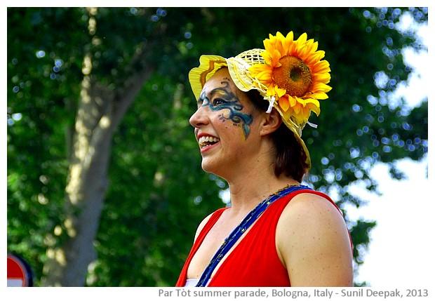 Par Tot summer parade Bologna, Italy - images by Sunil Deepak, 2013