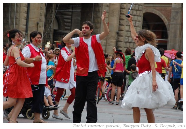 Partot summer parade Bologna - S. Deepak, 2011