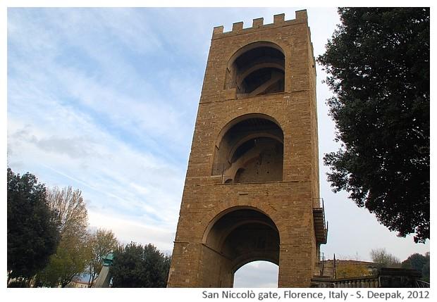 San Niccolò medieval gate, Florence, Italy - S. Deepak, 2012