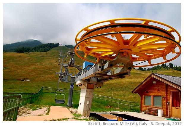 Ski lift at Recoaro Mille (VI), Italy - S. Deepak, 2012