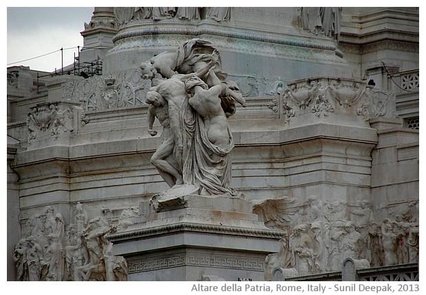 Altare della Patria, Rome, Italy - images by Sunil Deepak, 2013