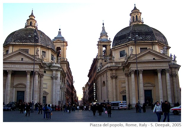 Rome, Italy - images by Sunil Deepak, 2005