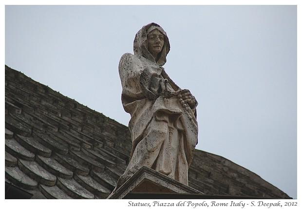 Church, Piazza del Popolo, Rome - S. Deepak, 2012