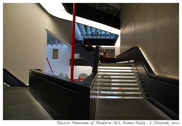 Maxxi architecture, Rome Italy - S. Deepak, 2012