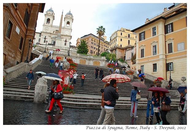 Piazza di Spagna, Rome Italy - S. Deepak, 2012