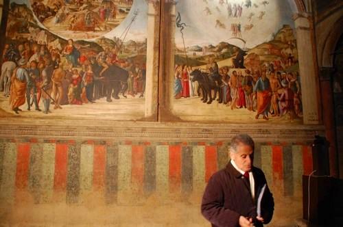 Prof. Giambattista Vai, San Giacomo church, Bologna, Italy