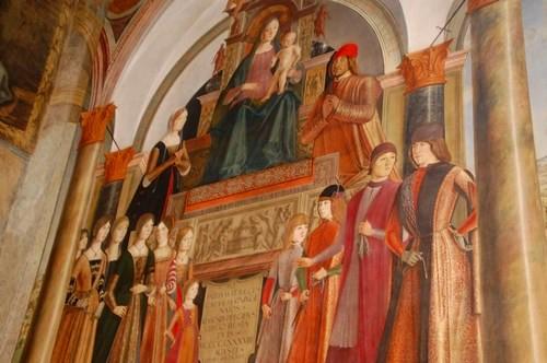 Bentivoglio chapel, San Giacomo church, Bologna, Italy