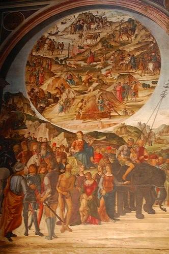 Lorenzo Costa, fame, Bentivoglio chapel, San Giacomo church, Bologna, Italy