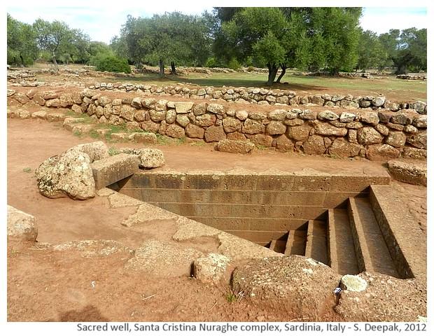 Sacred well, Santa Cristina Nuragic complex, Sardinia, Italy - S. Deepak, 2012