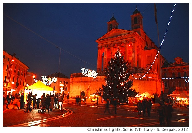 Christmas lights, Schio (VI), Italy - S. Deepak, 2012