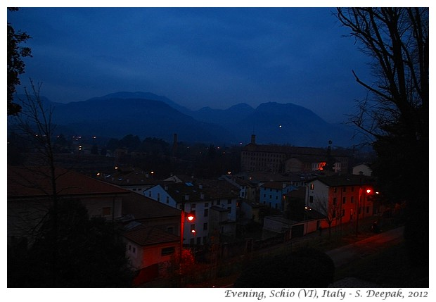 Evening, Schio (VI) Italy - S. Deepak, 2012