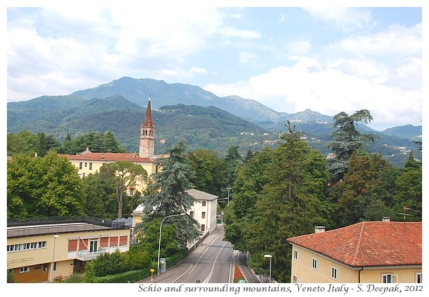 Mountains around Schio, Italy - S. Deepak, 2012