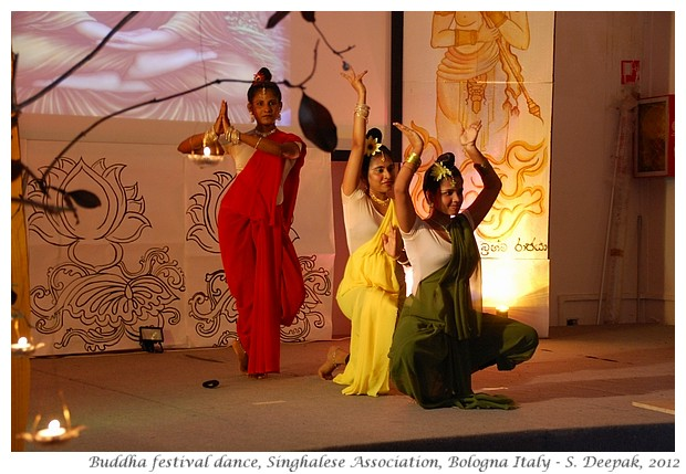 Dance on Buddha's life, Bologna Italy - S. Deepak, 2012