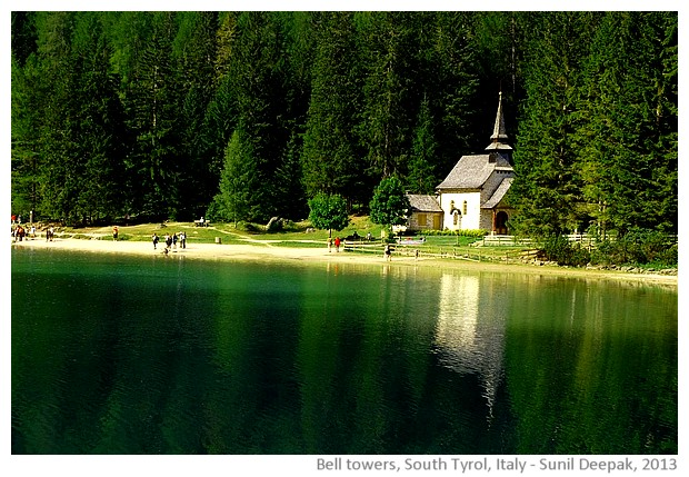 Bell towers in South Tyrol, Italy - images by Sunil Deepak, 2013