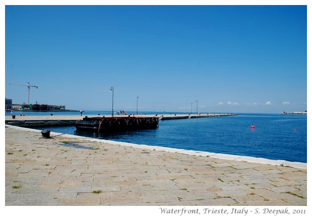 Trieste waterfront - S. Deepak, 2011