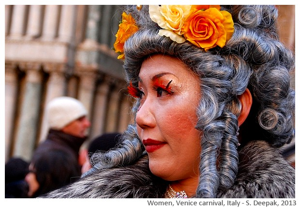 Mature women, Venice carnival, Italy - S. Deepak, 2013