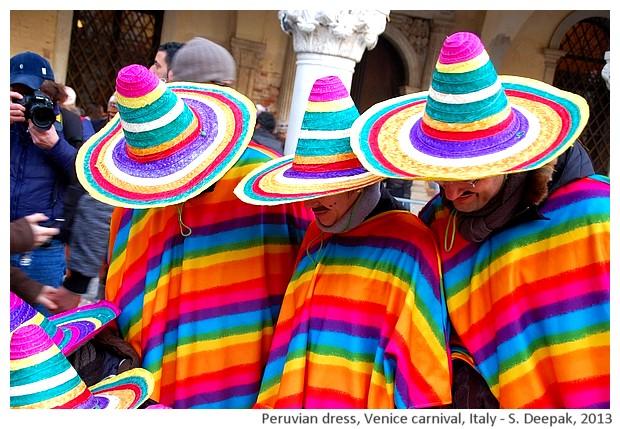 Peruvian dresses, Venice carnival, Italy - S. Deepak, 2013