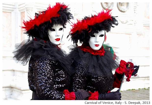 Costumes Venice carnival - S. Deepak, 2013