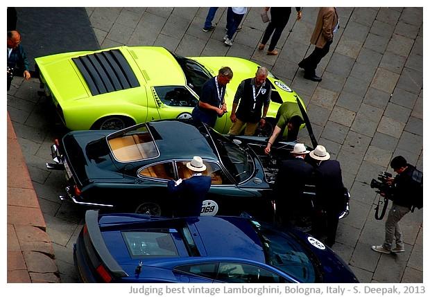 Vintage Lamborghini rally, Bologna, Italy - S. Deepak, 2013