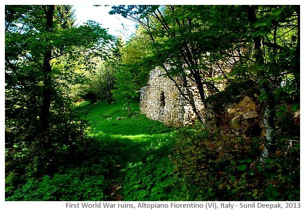 Ruins, Fiorentino altopiano (VI), Italy - images by Sunil Deepak, 2013