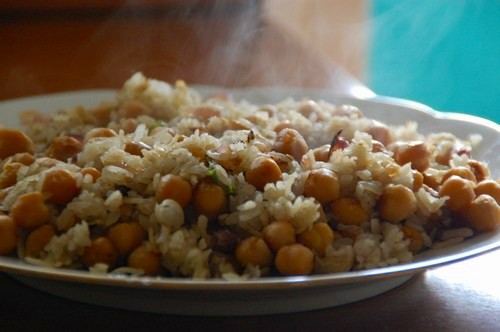 Indian Recipe Chana Poha