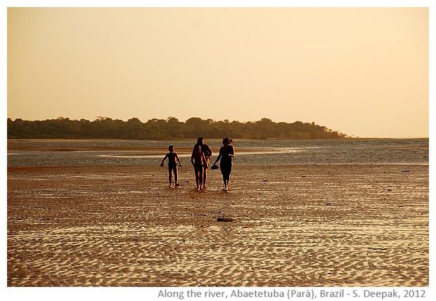 Evening on the river, Abaetetuba, Parà, Brazil - images by Sunil Deepak, 2012