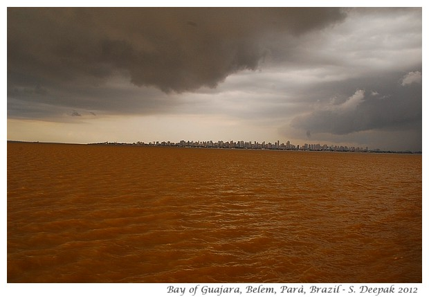 Storm in bay of Guajara, Parà Brazil - S. Deepak, 2012