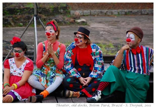 Street theater, Estaçao dos docas, Belem, Parà - Brazil, images by S. Deepak