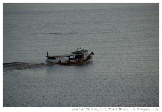 Boats, Belem port Para Brazil - S. Deepak, 2011