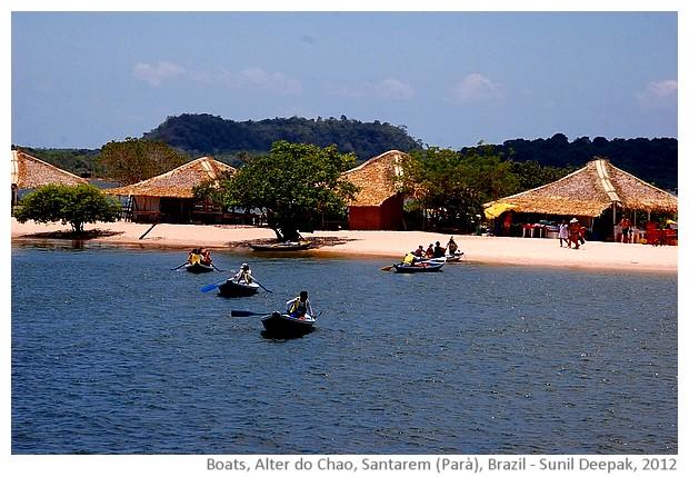 Boats, Alter do Chao, Santarem, Parà, Brazil - images by Sunil Deepak, 2013