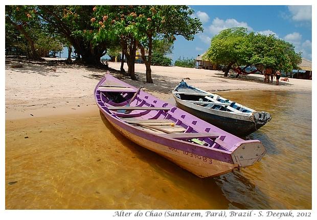 Boats, Alter do Chao, Santarem, Parà, Brazil - S. Deepak, 2012