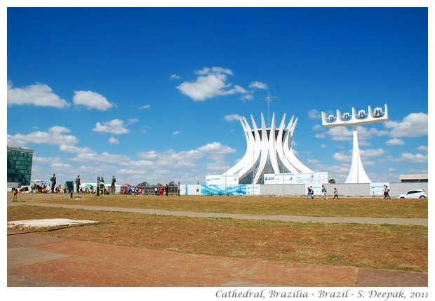 Brasilia Cathedral, Brazil - S. Deepak, 2011