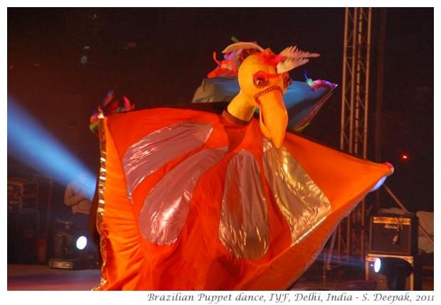 Brazilian puppet dancers - S. Deepak, 2011