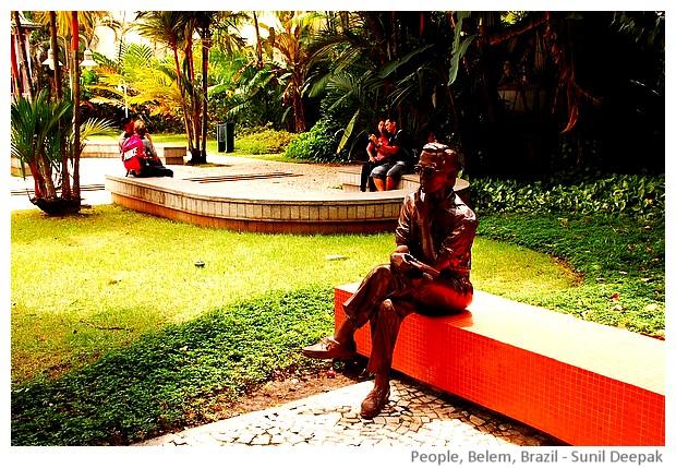 Belem, Brazil - images by Sunil Deepak