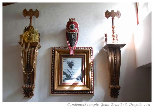 Candomble temple, Goias, Brazil - images by S. Deepak