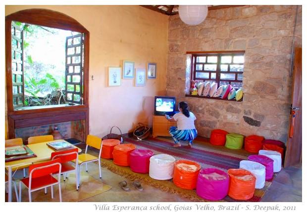 Villa esperança nursery school Goias Velho, Brazil - images by S. Deepak