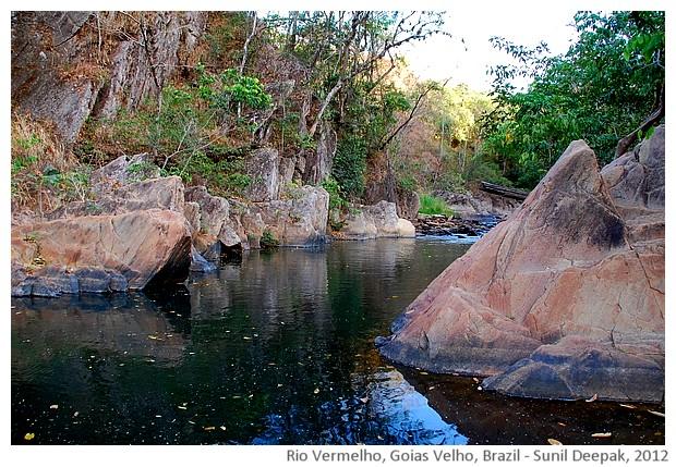 Rio Vermelho, Goias Velho, Brazil - images by Sunil Deepak, 2012