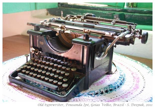 Old typewriter, Goias Velho, Brazil - S. Deepak, 2011
