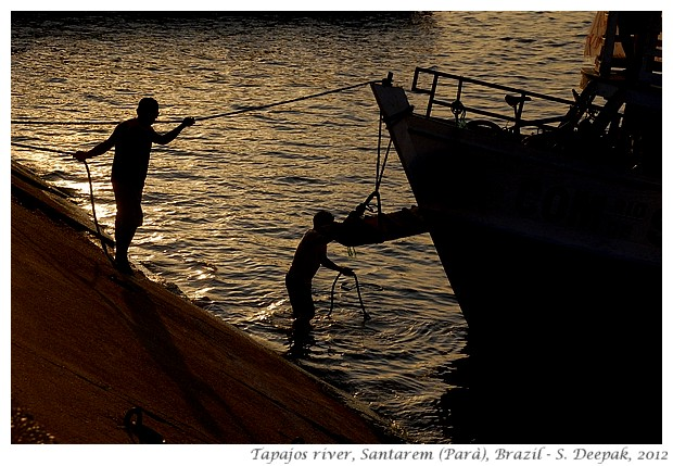 Evening on Tapajos river, Santarem, Brazil - S. Deepak, 2012