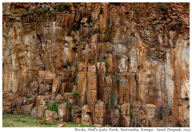 Rocks, Rift valley, Naivasha, Kenya - Images by Sunil Deepak