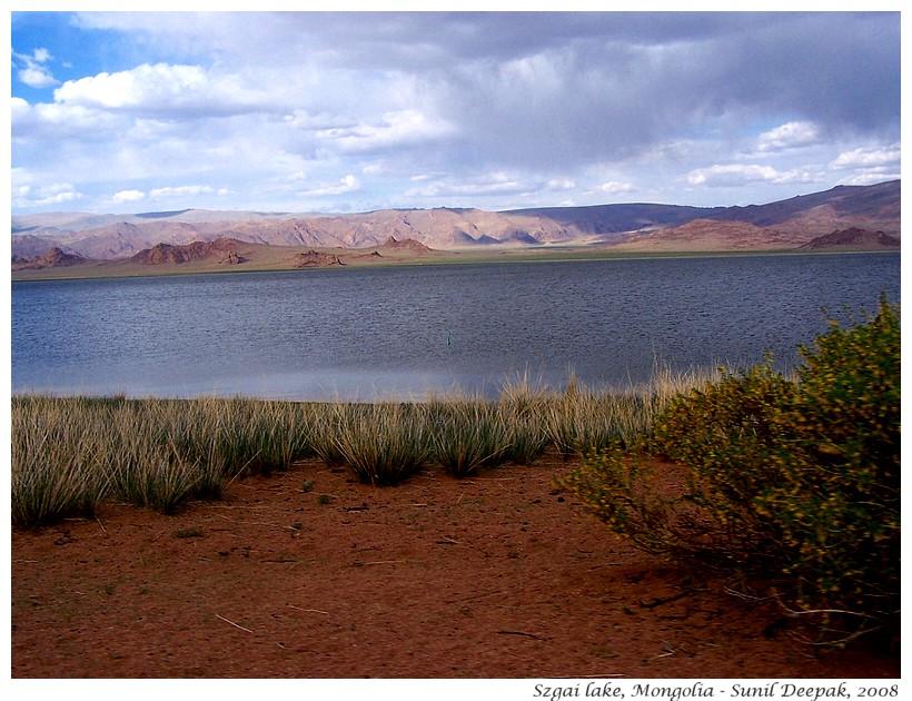 Szgai lake, Mongolia - Images by Sunil Deepak