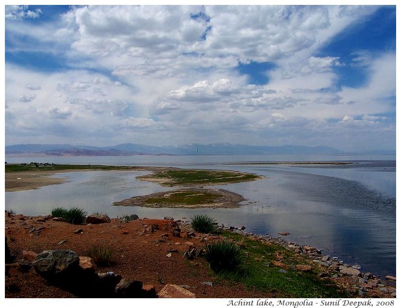 Achint lake, Mongolia - Images by Sunil Deepak