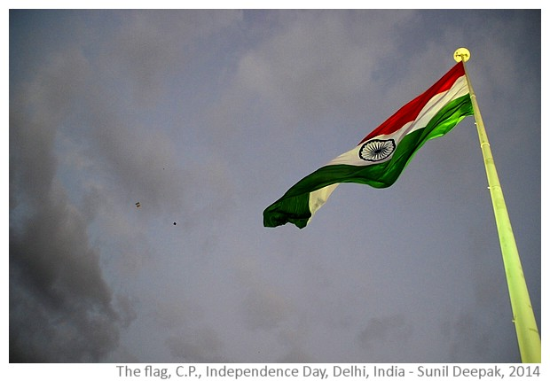 Independence Day, Delhi, India - images by Sunil Deepak, 2014